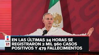 ÚLTIMA HORA: Confirman 62 mil 527 casos positivos y 6 mil 989 fallecimientos por Covid-19