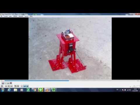 หุ่นยนต์เดินสองขา ควบคุมด้วย Arduino Nano