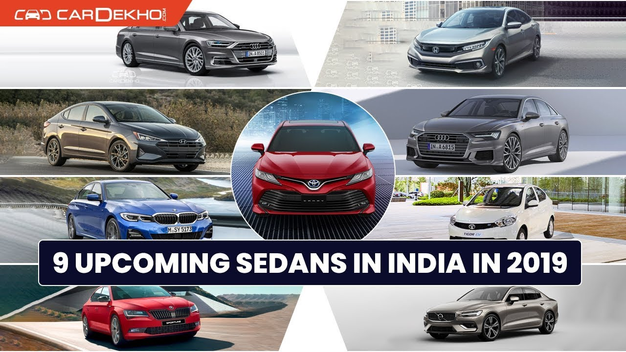 9 Upcoming Sedan Cars in India 2019 with Prices & Launch Dates - Camry, Civic & More! | CarDekho.com