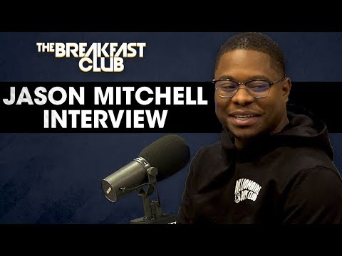 connectYoutube - Jason Mitchell Talks His Breakout Role In 'Straight Outta Compton', Working On 'The Chi' + More