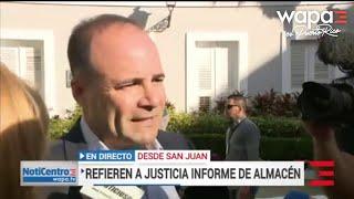 Elmer Román responsabiliza a Carlos Acevedo del lío por suministros en almacén