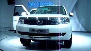 New Tata Safari Storme SUV at Auto Expo 2012