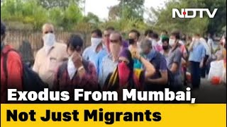 Not Just Migrants, Those Left Without Jobs During Lockdown Leaving Mumbai - NDTV