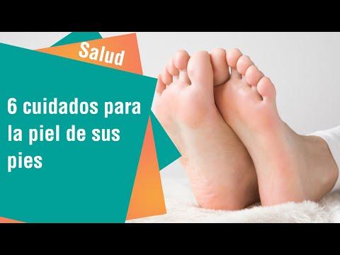 6 cuidados para la piel de sus pies   Salud