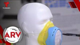 Crean nueva mascarilla que promete ayudarte a combatir la contaminación   Al Rojo Vivo   Telemundo