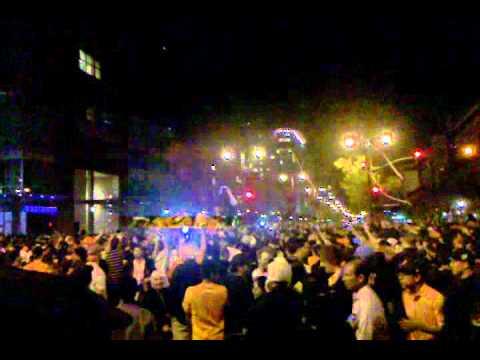 Giants celebration video