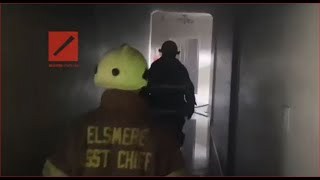 Sofocan incendio en hotel Crucero en Santo Domingo Este