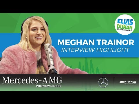 connectYoutube - Why Meghan Trainor Turned to Meditation   Elvis Duran Interview Highlight