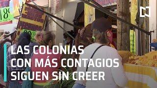 Coronavirus: Estas son las colonias de CDMX con más contagios de Covid-19 - Las Noticias
