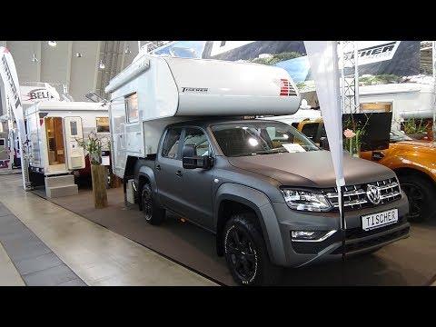 2018 Tischer BOX 240 Volkswagen Amarok - Exterior and Interior - Caravan Show CMT Stuttgart 2018