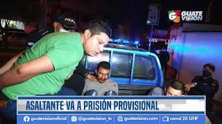 Recapturan a hombre que asaltó en colonia Lourdes en zona 16