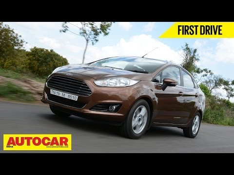 2014 Ford Fiesta Sedan Facelift | First Drive Video Review