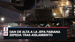 Llega a México el vuelo 12 de China con insumos médicos para Covid-19/ RESUMEN