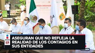 Gobernadores rechazan semáforo de López-Gatell