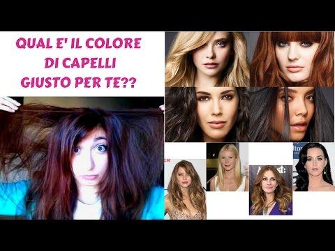 Colore capelli giusto per te