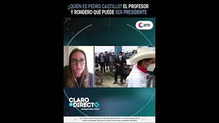 ¿Quién es Pedro Castillo El profesor y rondero que quiere ser presidente