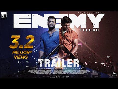Enemy (Telugu) - Official Trailer | Vishal | Arya | Anand Shankar | Vinod Kumar | Thaman S | Sam CS