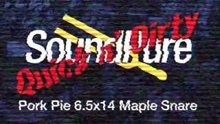 Pork Pie 6.5x14 Maple Snare Drum - Quick n' Dirty