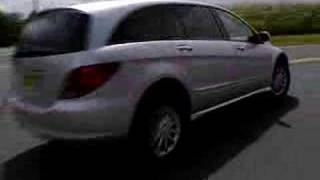 Mercedes Benz R-class promotional commercial