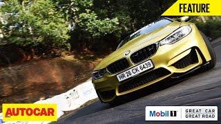 Mobil 1 Presents Great Car Great Road | BMW M4 | Autocar India