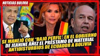 ???? El ministro de Gobierno, CONFIRMA el apoyo del gobierno de Lenin Moreno ???????? al Golpe de Estado ????