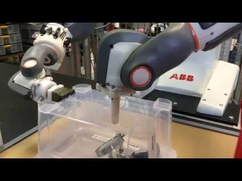 Sensor-less force control for ABB FRIDA robot