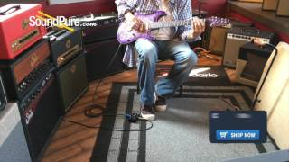 Anderson Drop Top Natural Purple Burst Quick n' Dirty