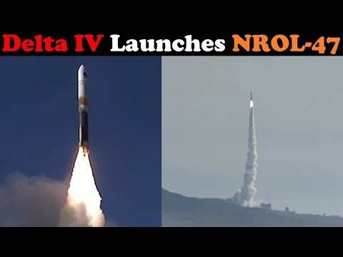 connectYoutube - Delta IV Rocket Launches NROL-47 Secret Payload