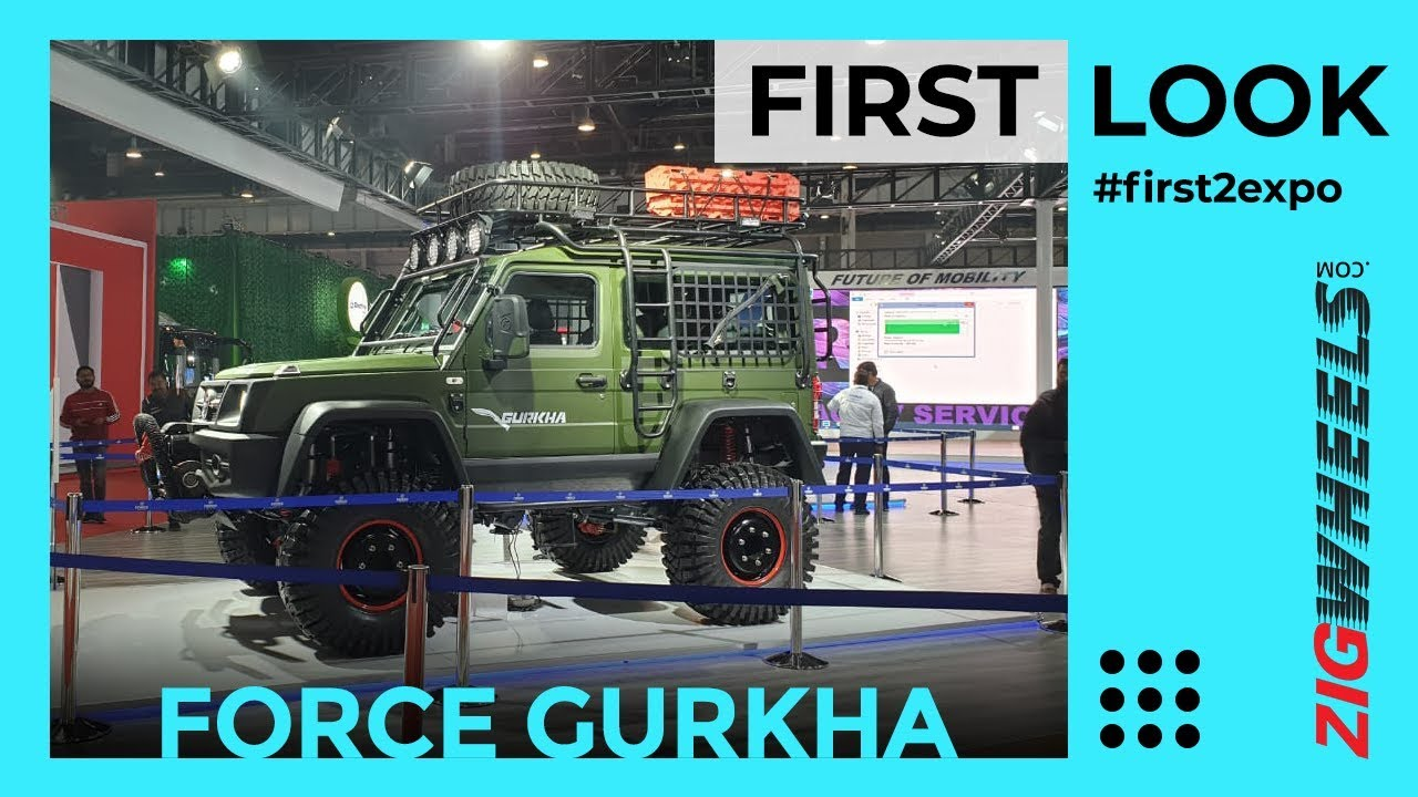 Force Gurkha 2020 First Look Walkaround Review | Watch Out, Mahindra Thar! | ZigWheels.com