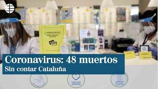 Sanidad informa de 48 muertos por coronavirus en el último día, pero sin datos de Cataluña