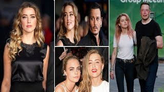 Amber Heard: Amber Heard's Complete Dating History Timelines  From Johnny Depp To Elon Musk
