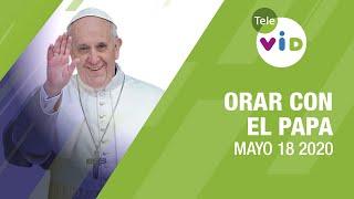 Click To Pray, Orar con el Papa Francisco hoy Mayo 18 2020 - Tele VID