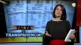 #ElInformeConAliciaOrtegra Falta de transparencia: Morosos por declaración jurada de patrimonios