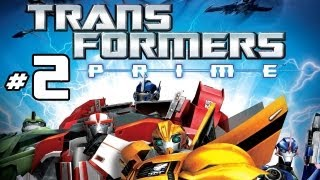 Transformers Prime: The Game - Part 2 Gameplay Commentary -  Arcee Vs. Airachnid Wii U HD