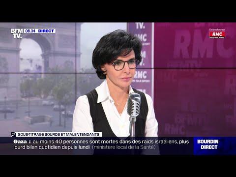 Rachida Dati face à Jean-Jacques Bourdin sur RMC et BFMTV