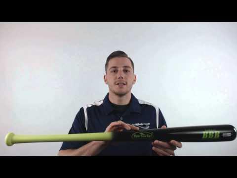 BamBooBat Bamboo Wood Baseball Bat: HYBB100D