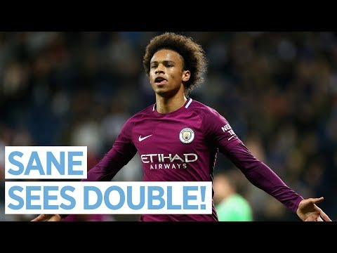 SANE SCORES TWO! | Leroy Sane Post Match Interview | West Brom 1-2 City