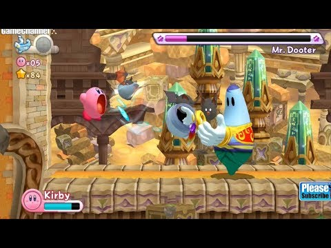 Kirby's Return to Dream Land Nintendo Wii Adventure Kids Platform Games #5