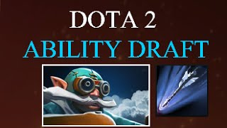 Dota 2 Ability Draft (Gyrocopter) Gameplay Commentary