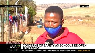 Reopening of Schools | Safety concerns as schools set to reopen on Monday