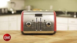 Kitchenaid's snazzy toaster flaunts retro looks but takes its sweet time
