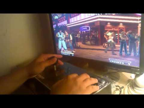 Testing my new (custom) Arcade Joystick