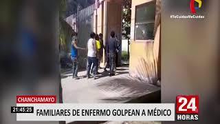 Chanchamayo: Familiares de enfermo golpean al único neumólogo que trabaja en el hospital