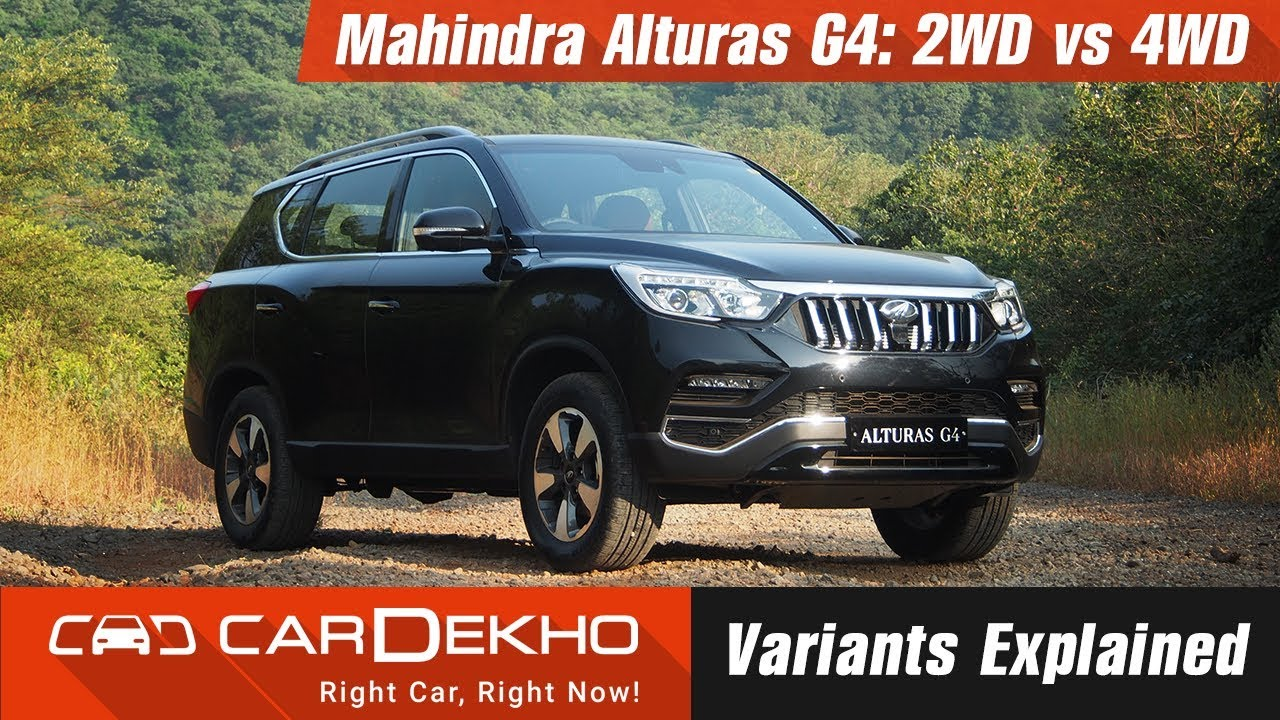 Mahindra Alturas G4: 2WD vs 4WD Variant: What's The Difference? | CarDekho.com
