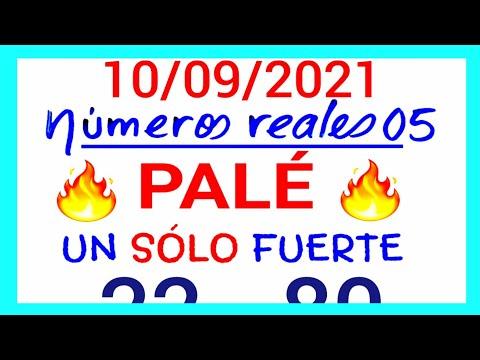 NÚMEROS PARA HOY 10/09/21 DE SEPTIEMBRE PARA TODAS LAS LOTERÍAS..!! Números reales 05 para hoy....!!