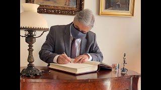 Francisco Bustillo asumió como ministro de Relaciones Exteriores