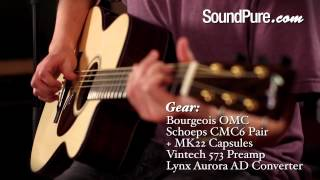 Bougeois OMC Acoustic Guitar Demo