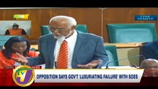 TVJ News: Opposition Says Gov't 'Luxuriating Failure' with SOES - February 2 2020