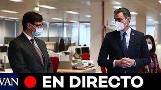 DIRECTO: Pedro Sánchez anuncia la remodelación del Gobierno tras la salida de Salvador Illa