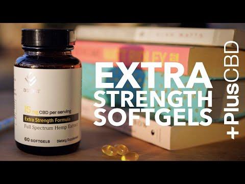 Extra Strength Softgels | America's Favorite CBD